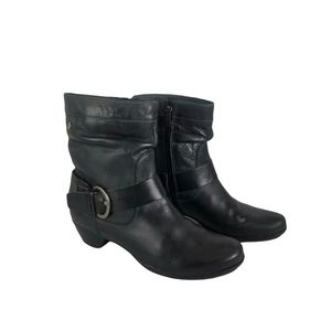 Pikolinos Rotterdam Soft Leather Buckle Boots
